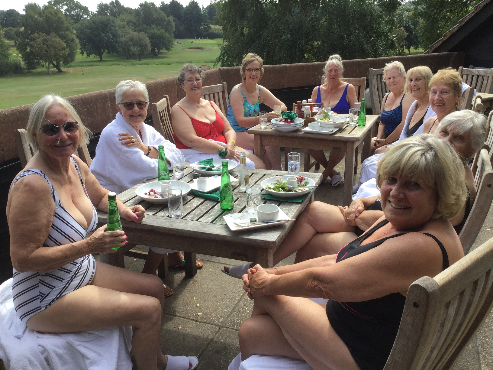 Ladies that lunch, Spa Day Aug 19