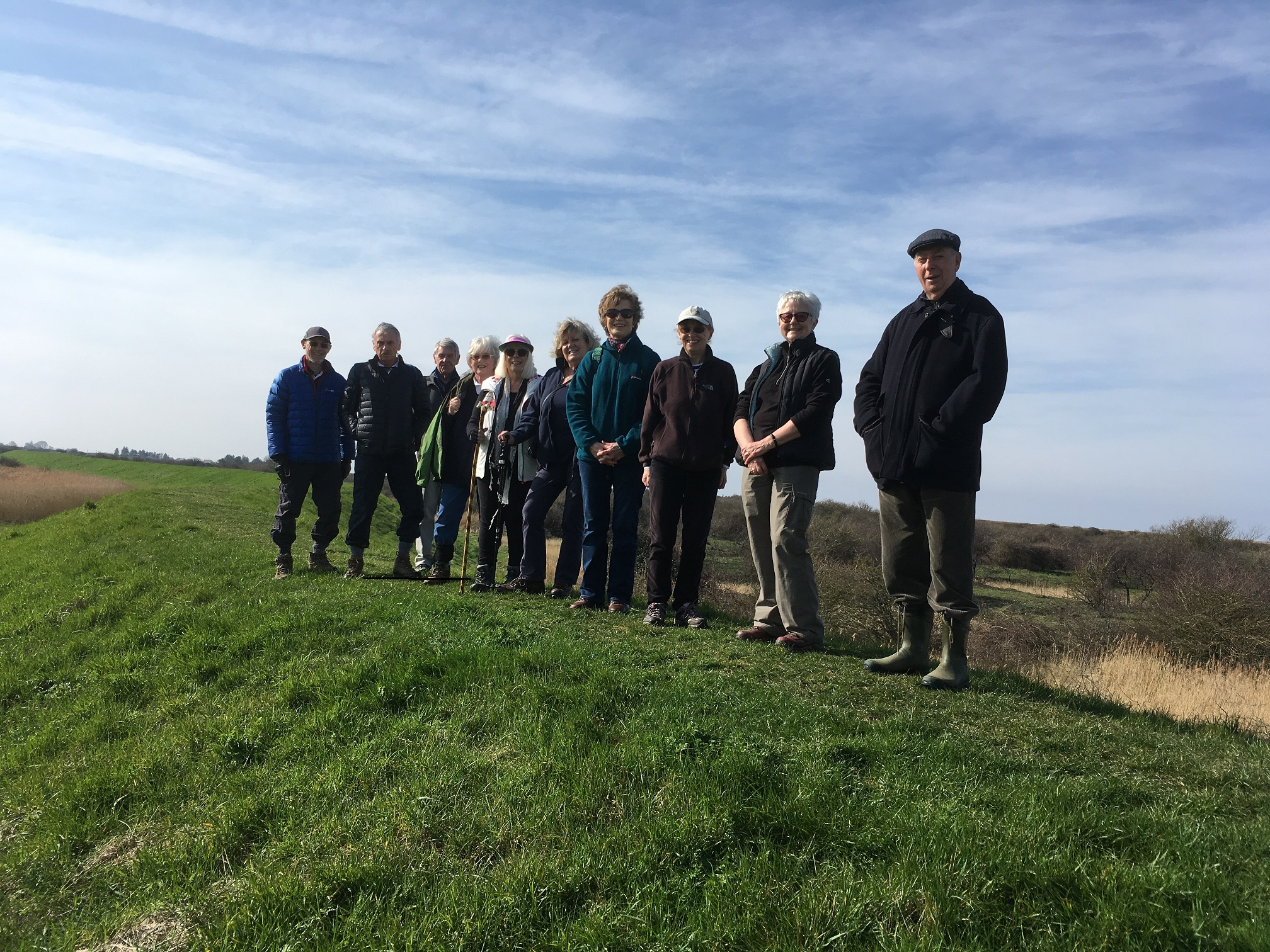 Snettisham Beach Walk in March 2019