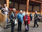 Some of the group at the Globe
