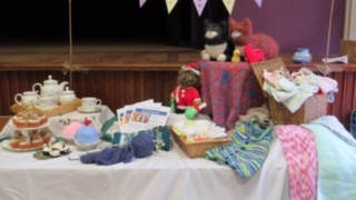 Our Table at the Groups Fayre