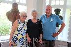 Irene with Ian and Liz from Guernsey