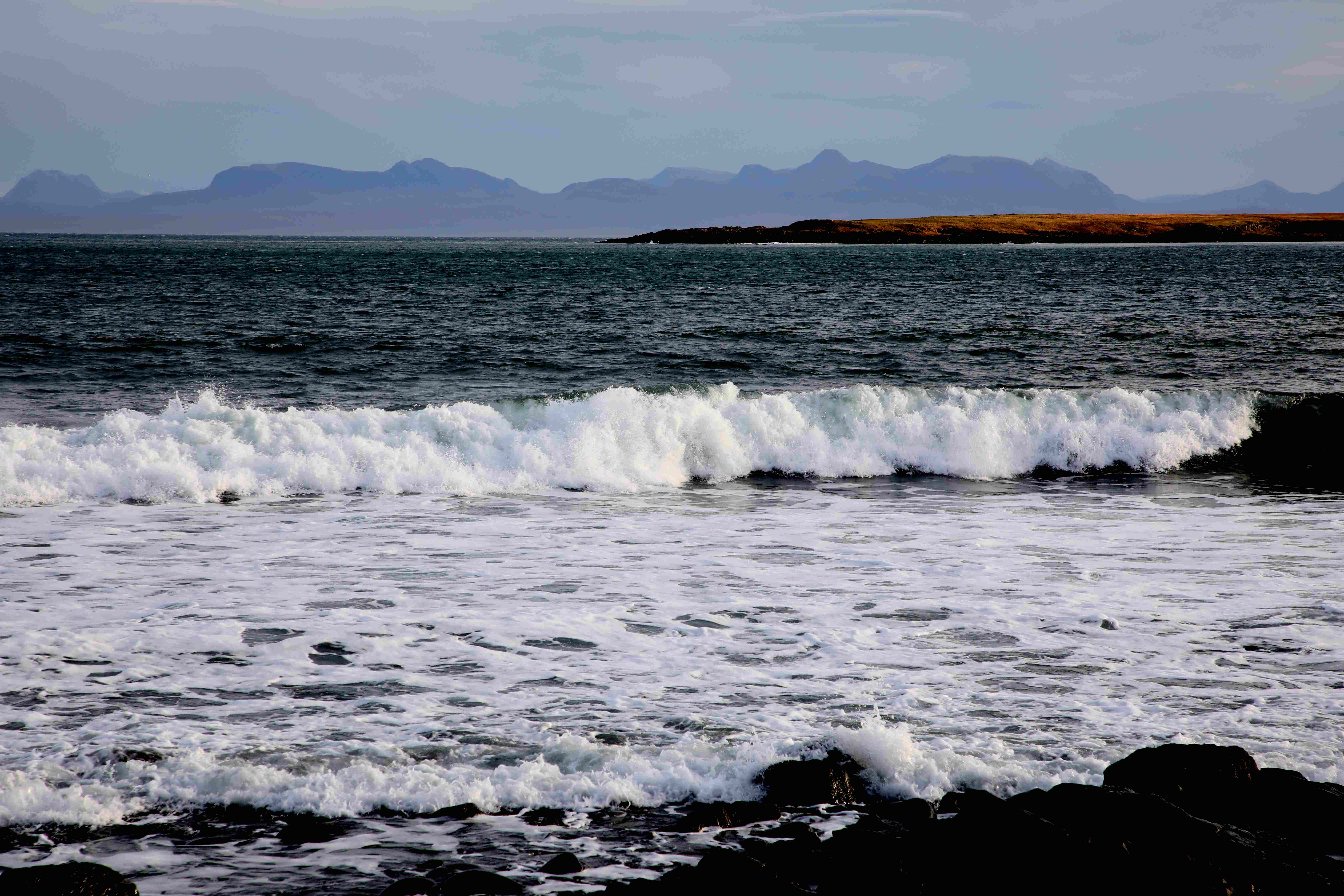 Staffin Bay and Mainland