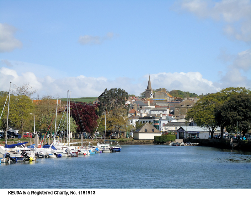 Kingsbridge from the Creek