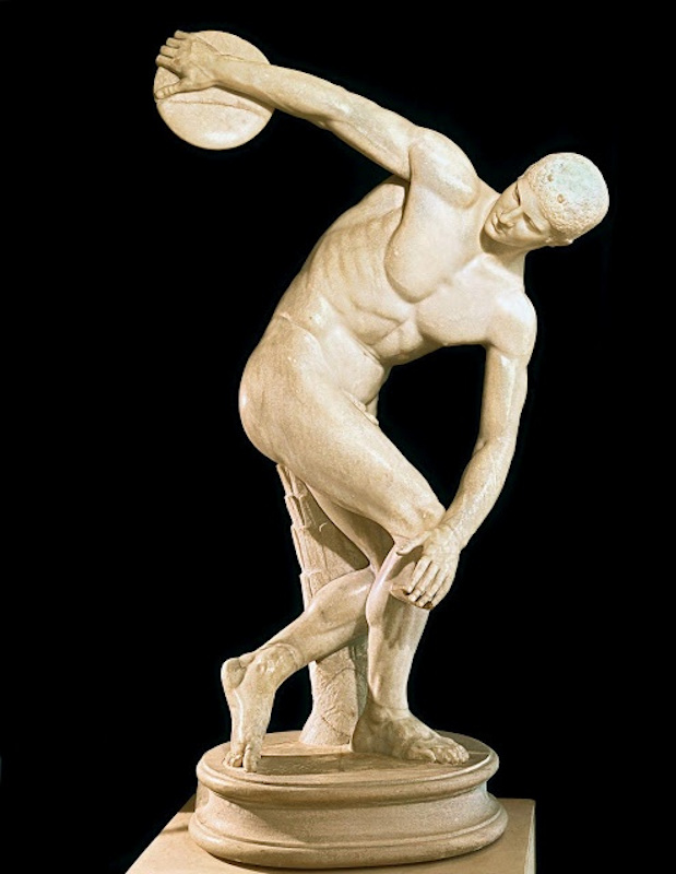 Discus-thrower by Myron