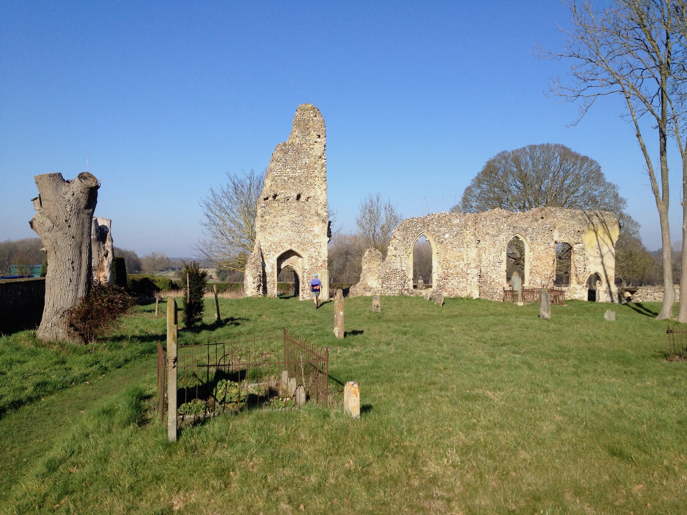 West Raynham Church Ruins
