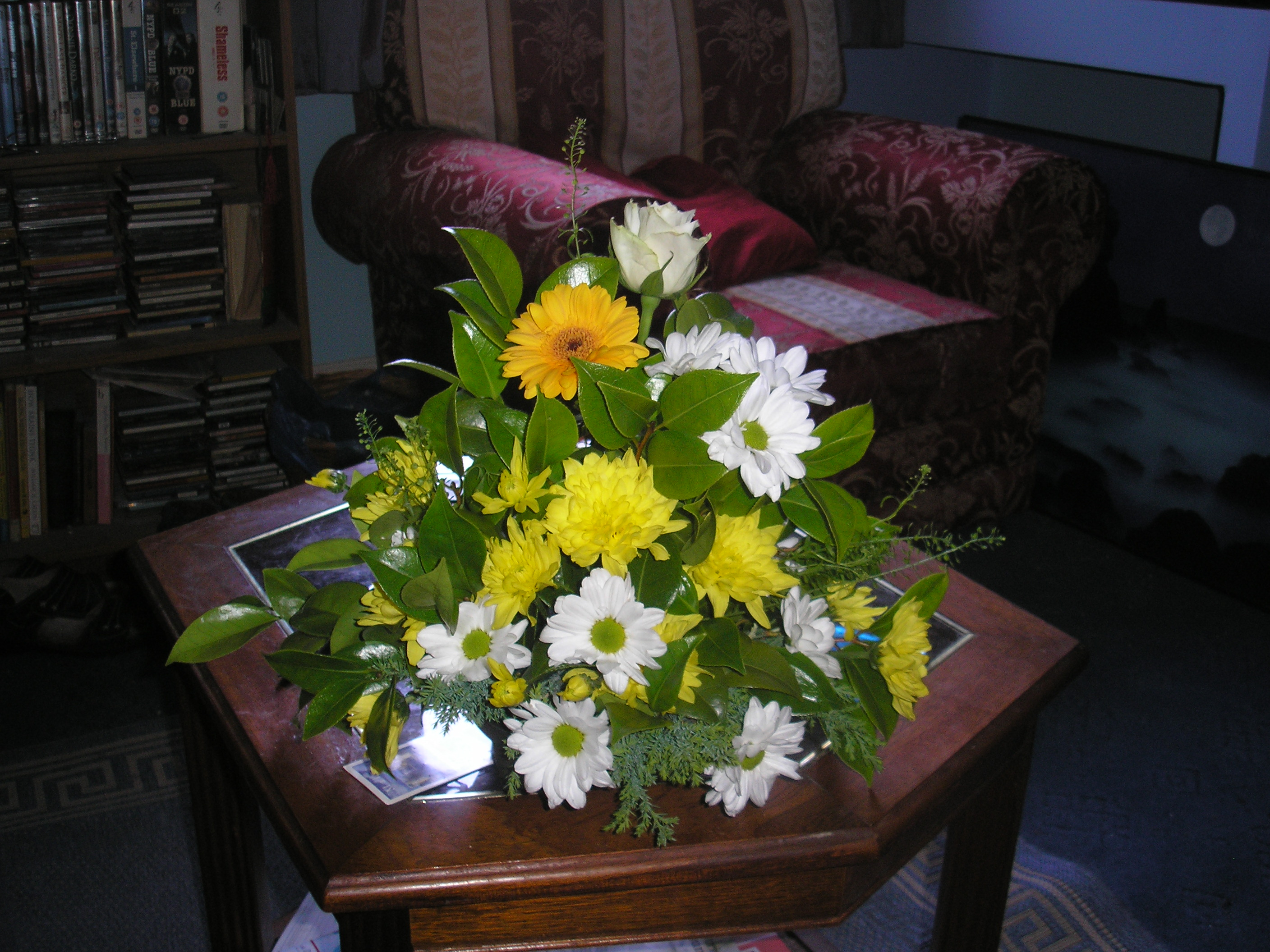 The first arrangement