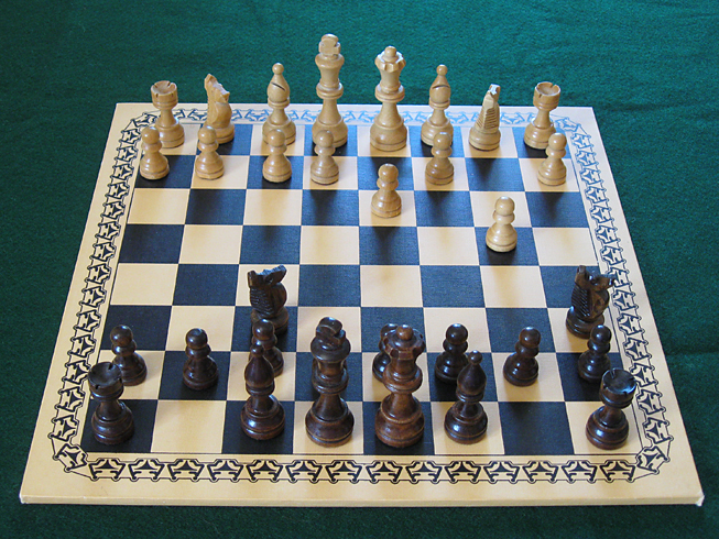 Monthly meetings for social chess