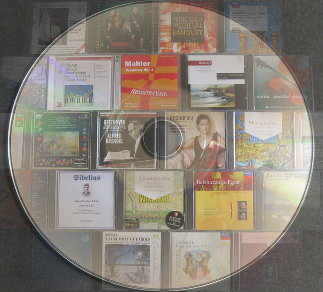 A Selection of Music CDs