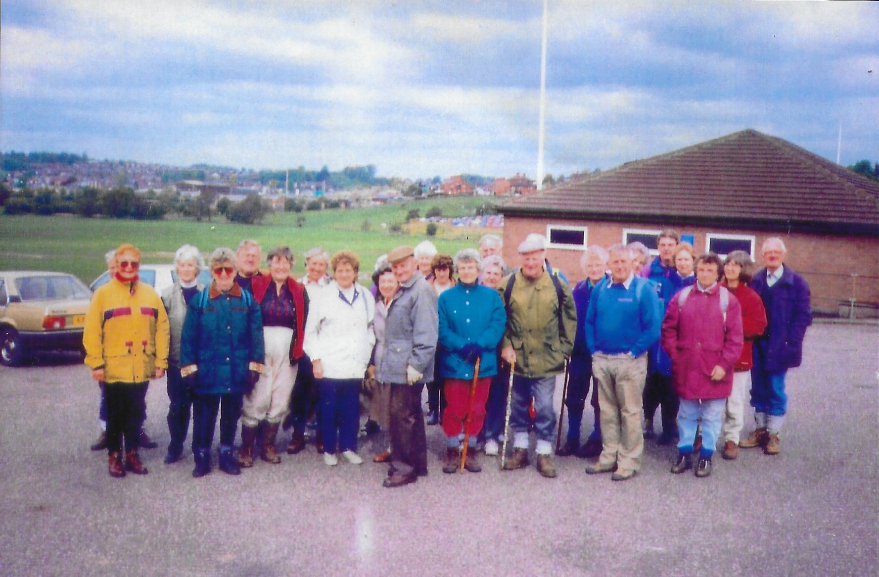 1st U3A Walk on 11th May 1995