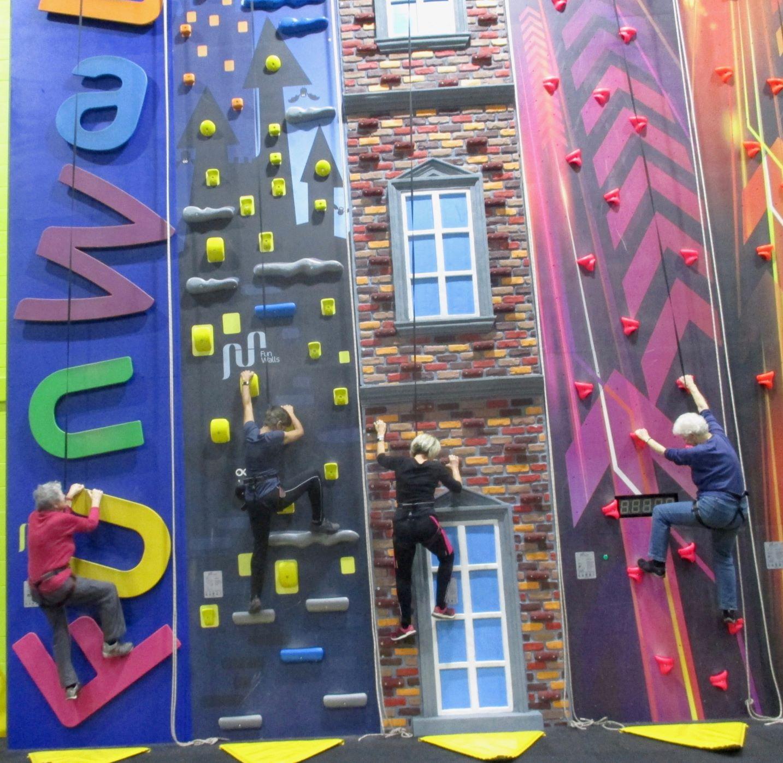 Climbing Wall at Parklands