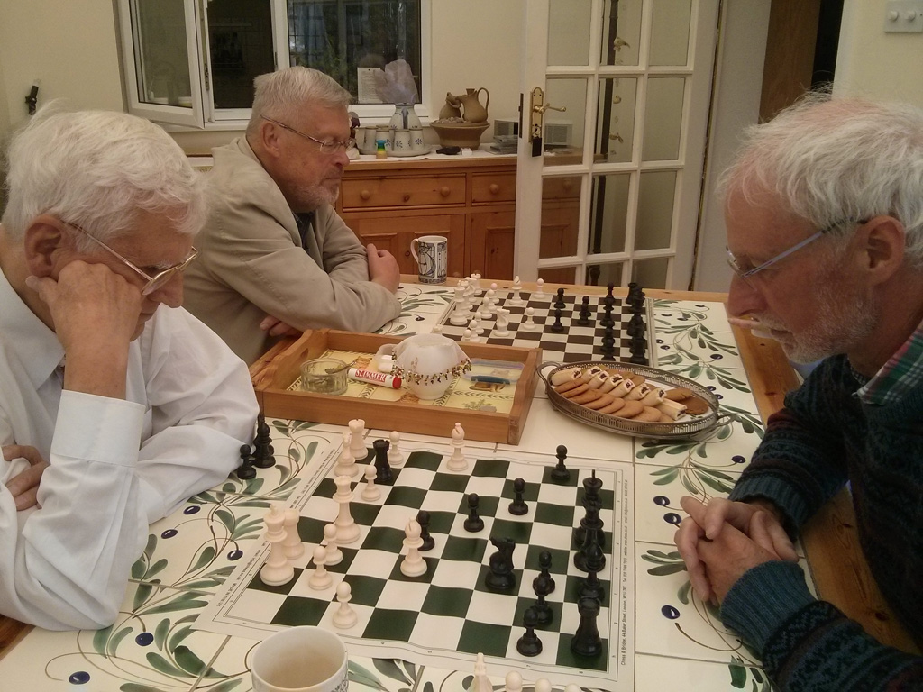 August meeting of Chess group