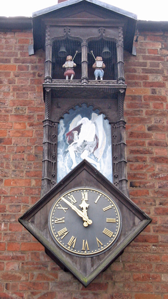 Leicester Guildhall, Automaton Clock