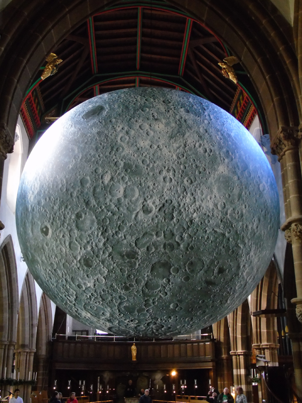 Museum of the Moon - Leicester Cathedral