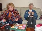 Keen knitters
