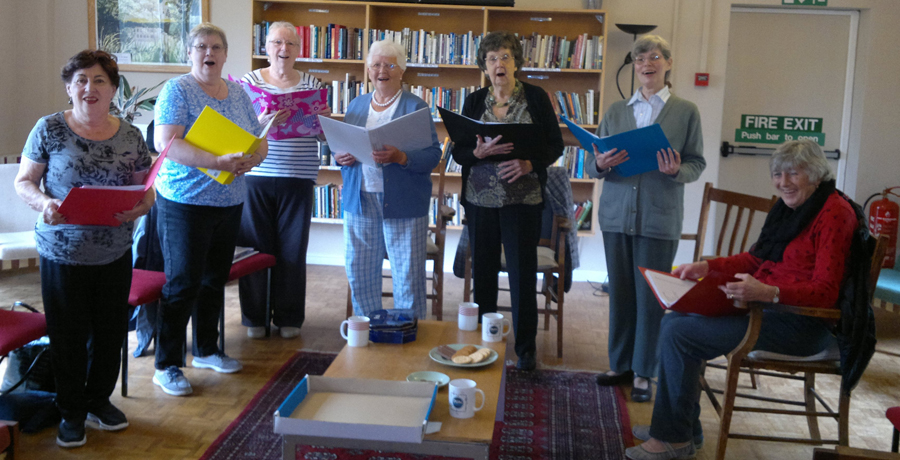 The Singing for Pleasure Group