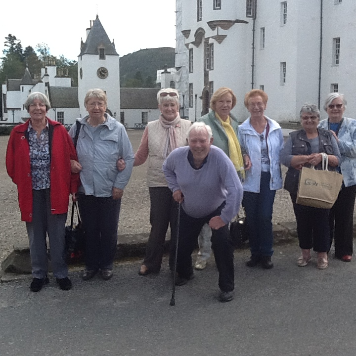 Members visit Blair Castle