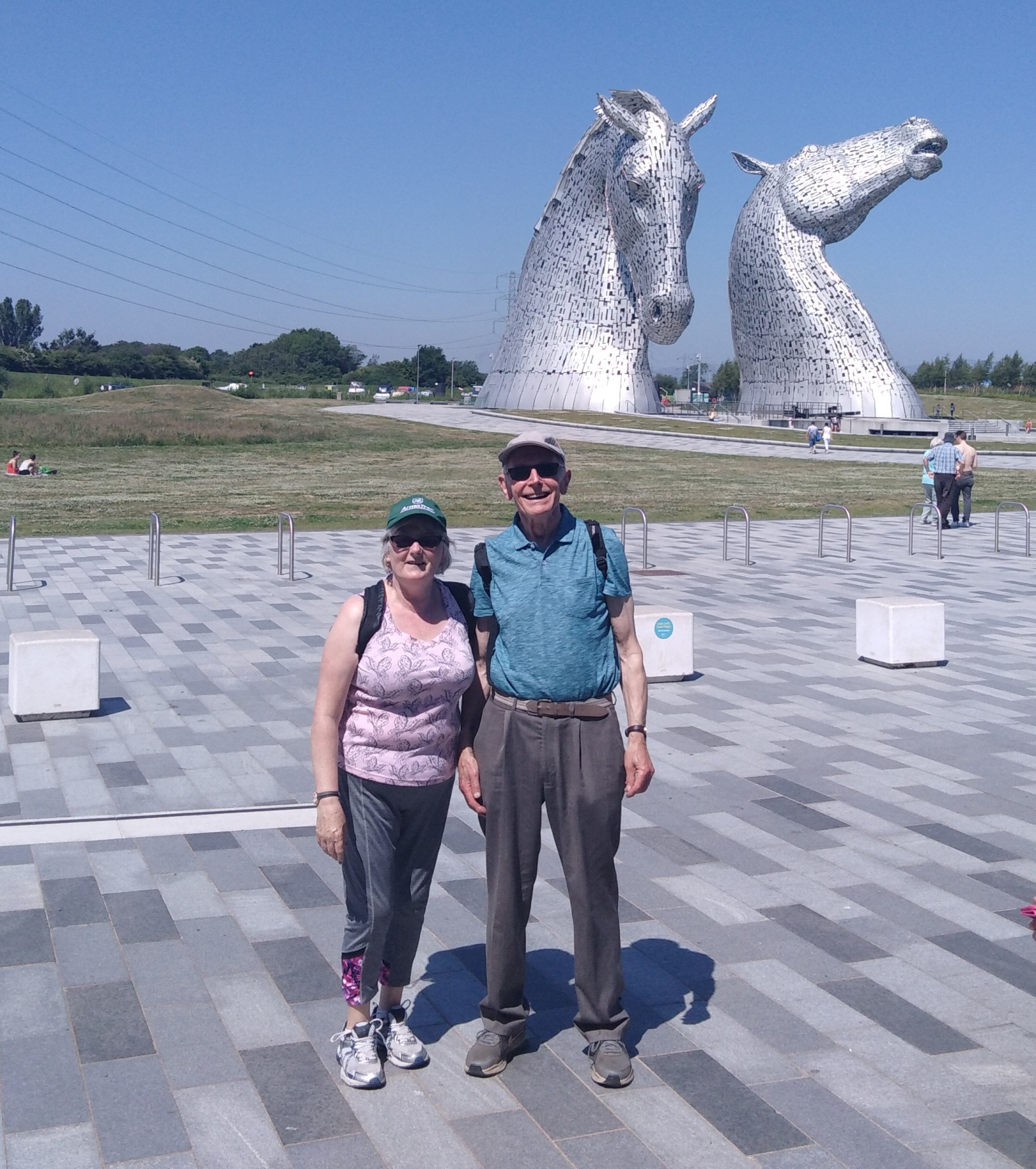 Kelpies walk June 2018