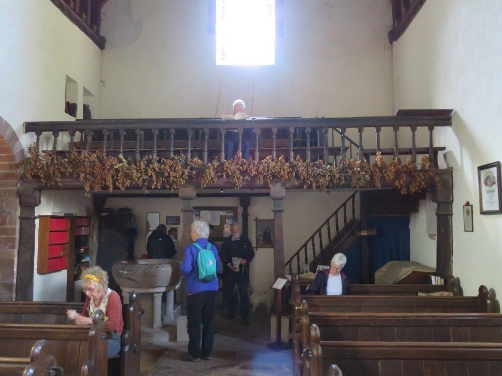 Studying Kilpeck church