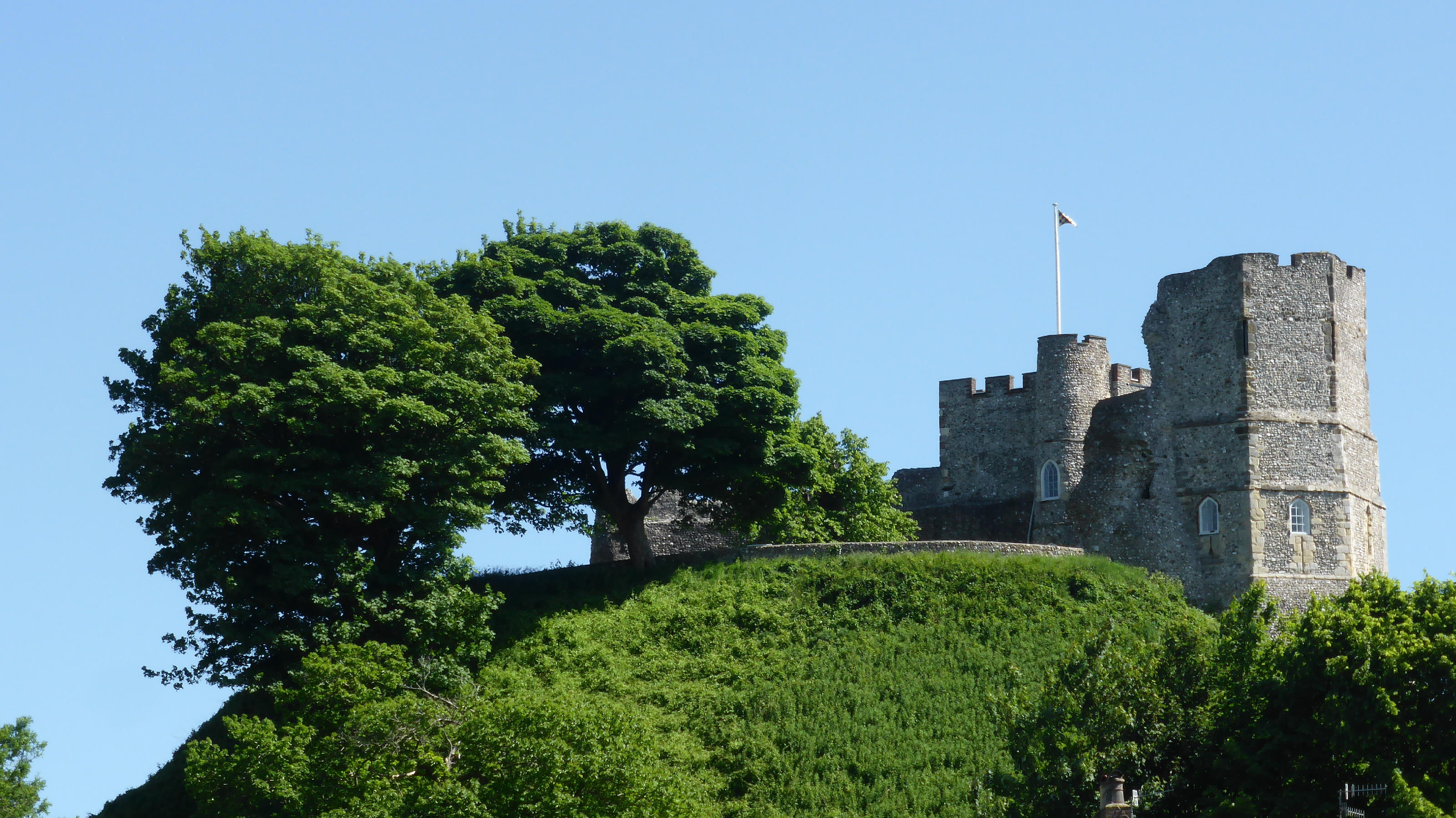 LEWES CASTLE by Robert Hill