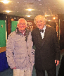 Malcolm with Chris Barber