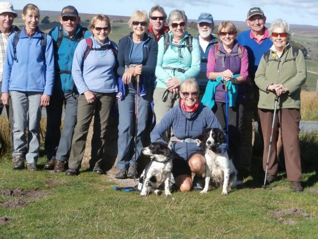 walking group in good form!