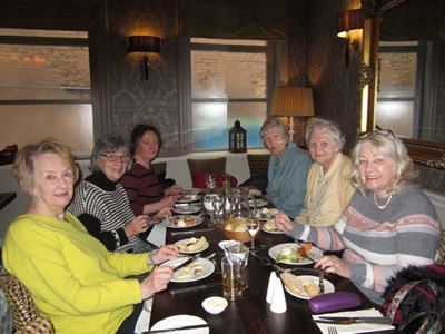 Members at lunch