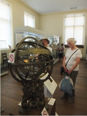 Astrolabe viewing