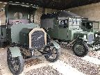 Stow Maries, WW1 vehicles, with Ingrid!