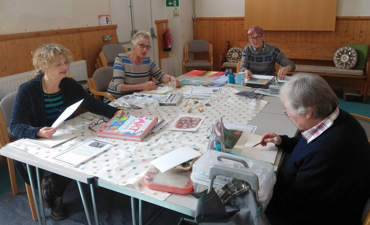 Arts & Craft Group Friday
