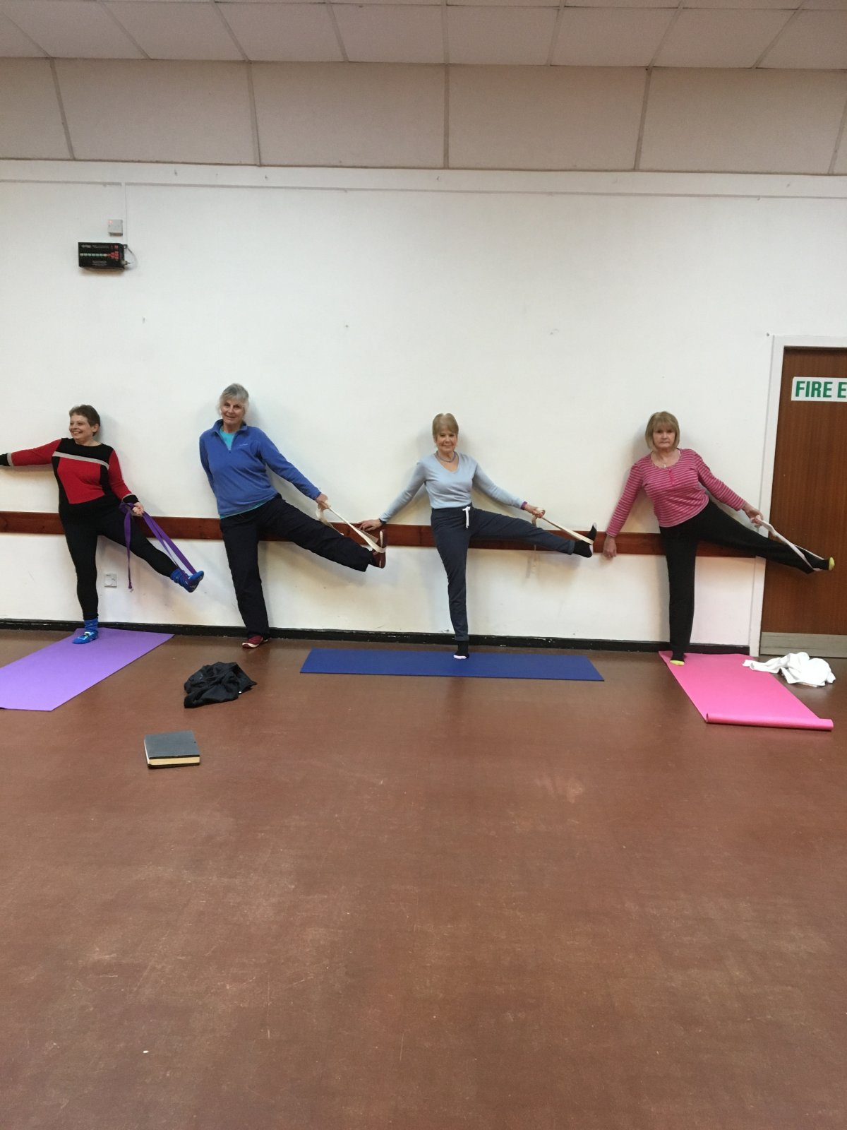 Yoga Group Members