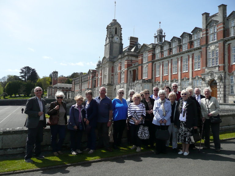 Trip to Dartmouth Naval College