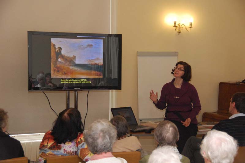 Dr Joyce Townsend at Science Group