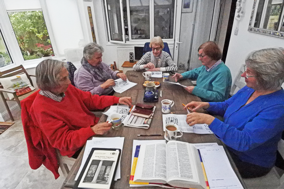 The Cryptic Crossword group