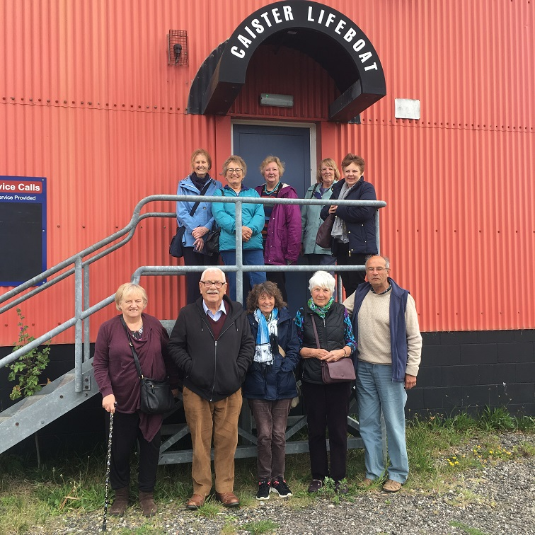 Our trip to Caistor Lifeboat Station