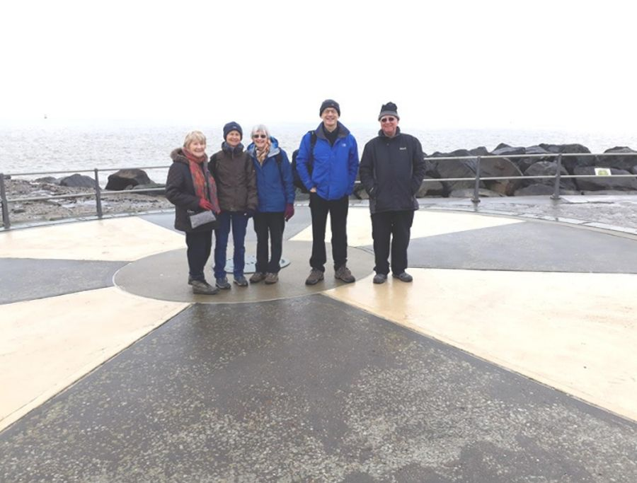 Ramblers at Ness Point