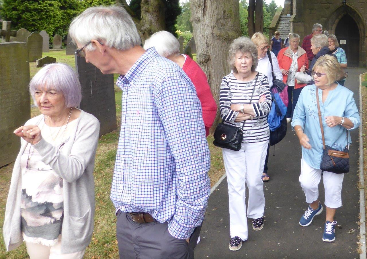 Strolling Group visit to Kirby Muxloe