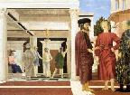 Flagellation by Piero della Francesco