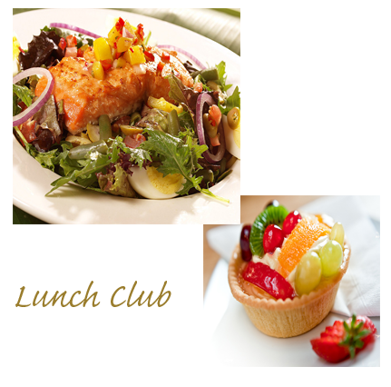 The Lunch Club header
