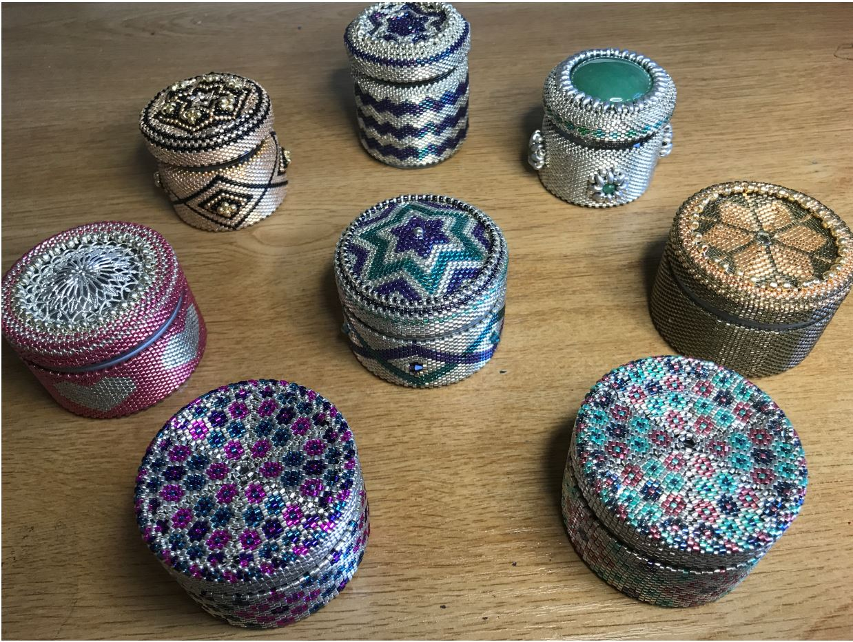 Trinket Jars and Tins