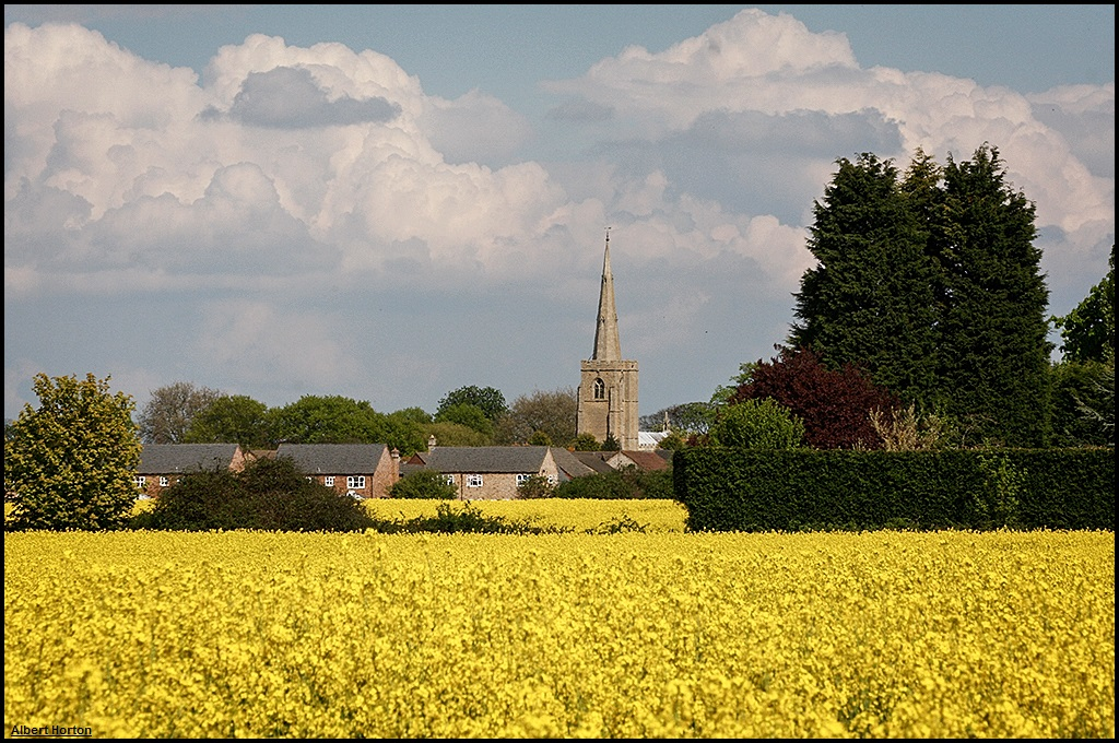 St. Wendreda's, March, in the Spring