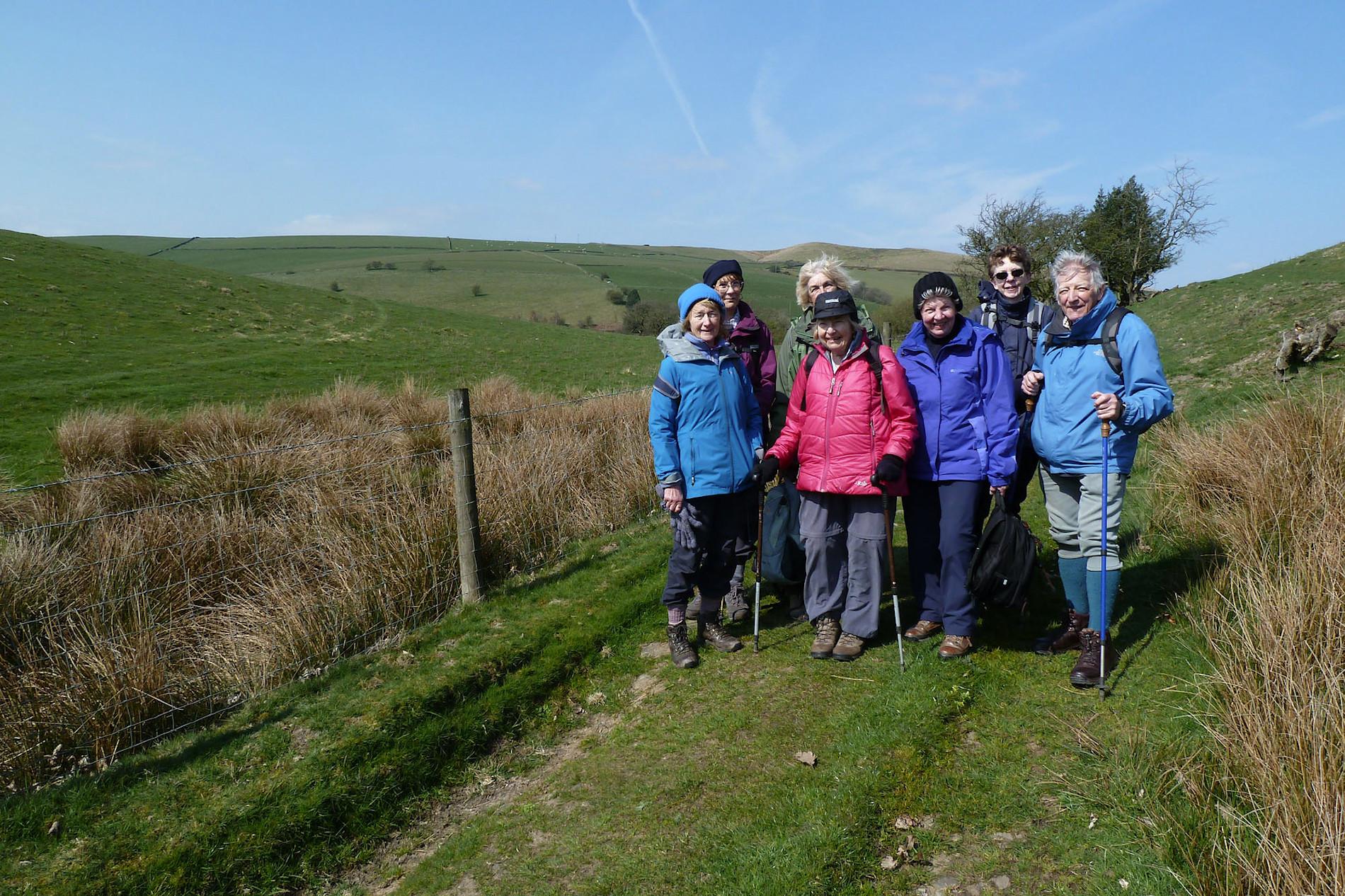 Walking Group at Lyme Park
