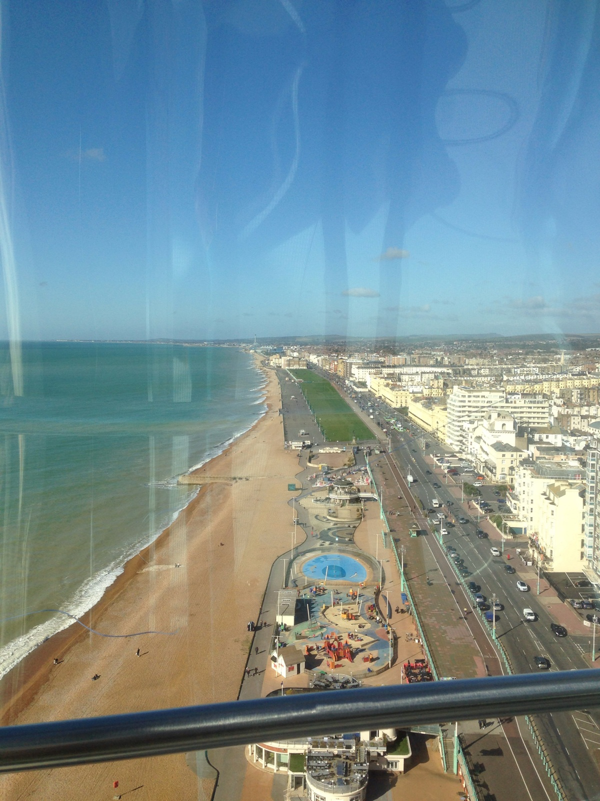 View from i360 in Brighton