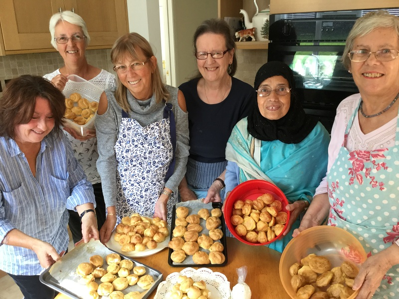 The delights of profiteroles