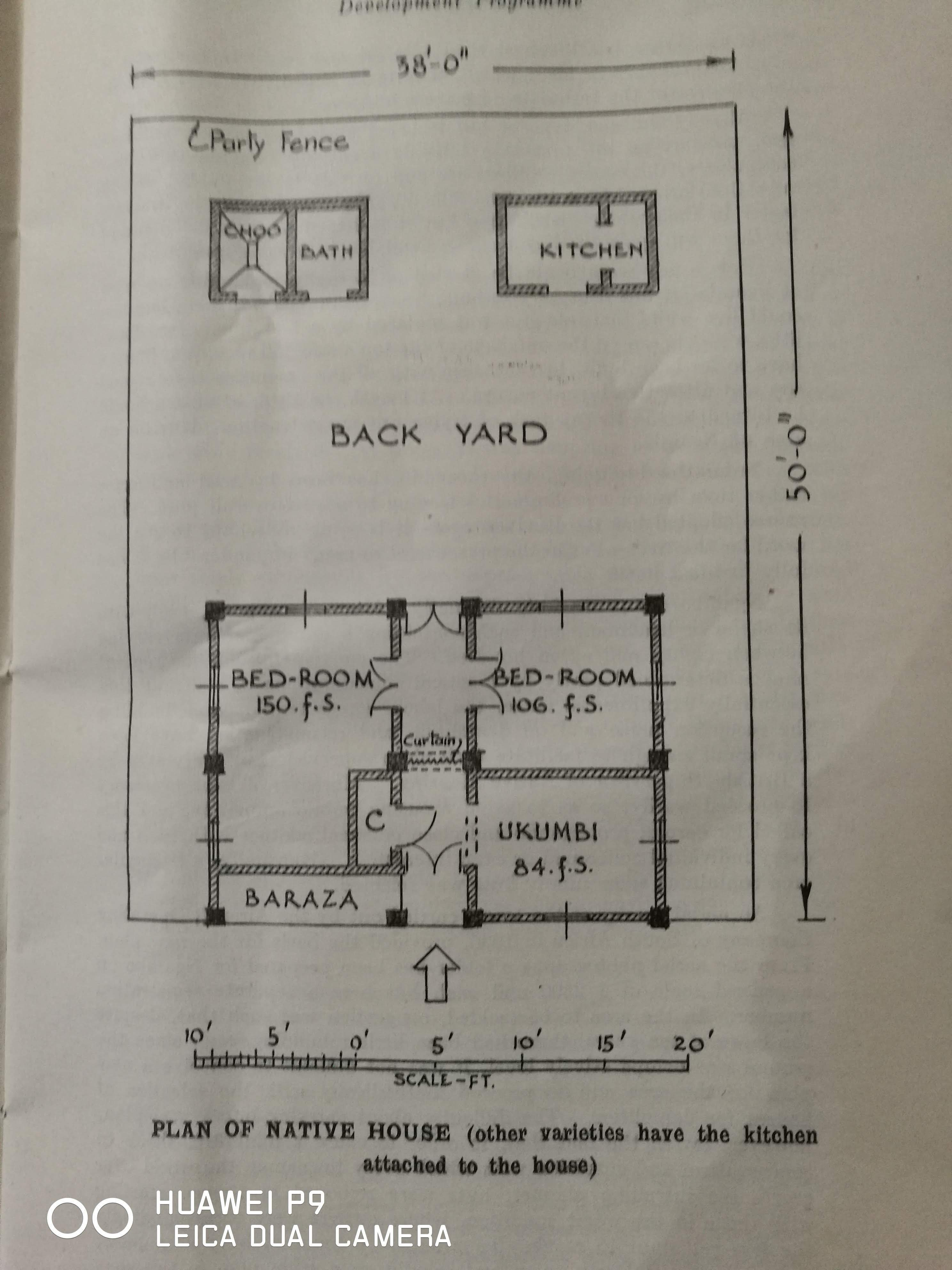 Plan of Native House