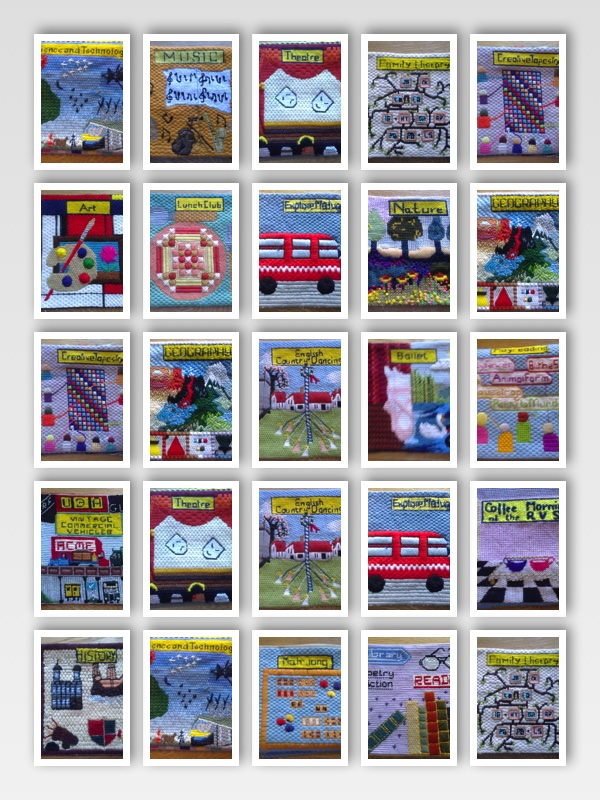 Creative Tapestry group squares
