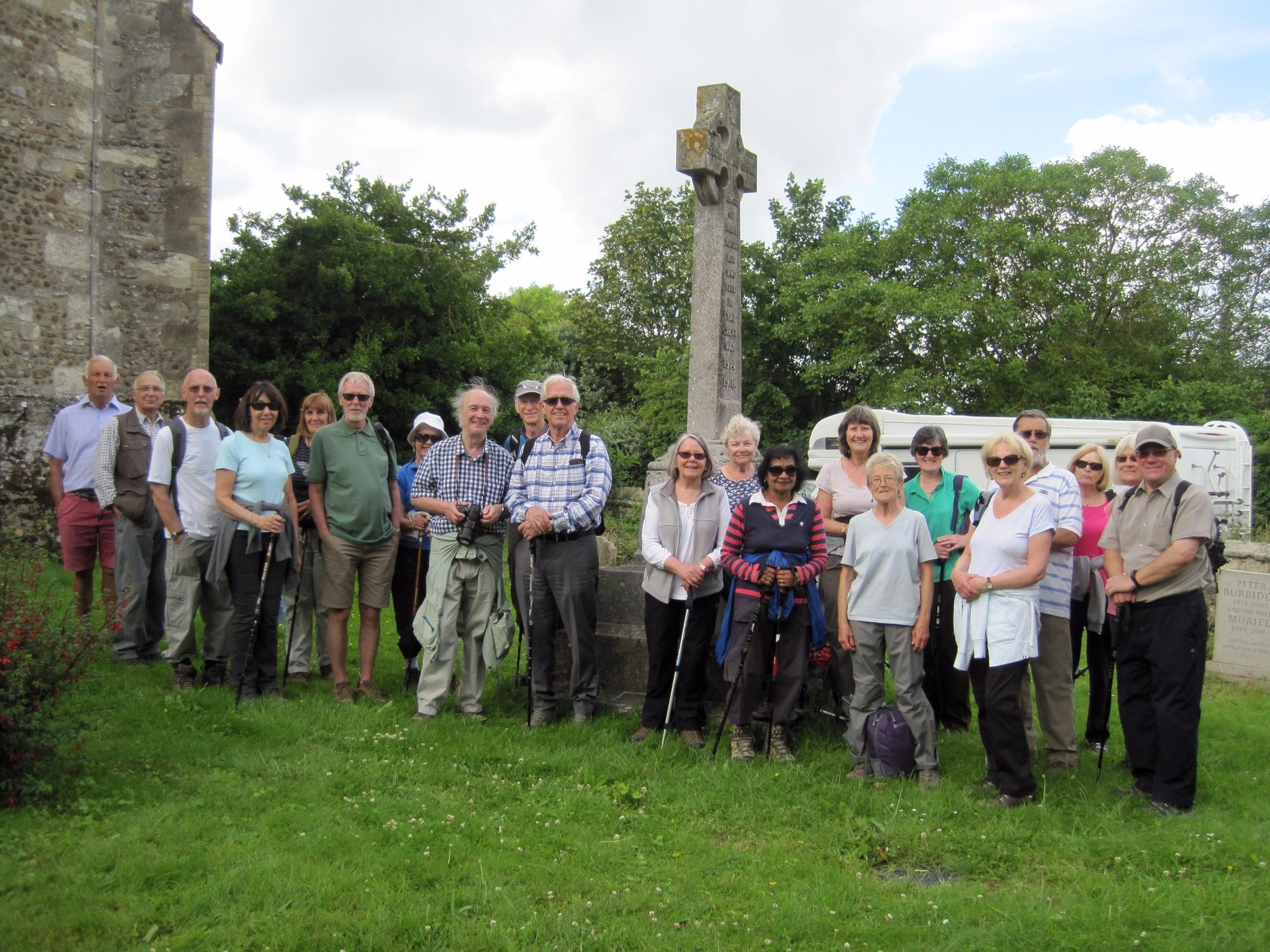 Long Walks group - Great Eversden
