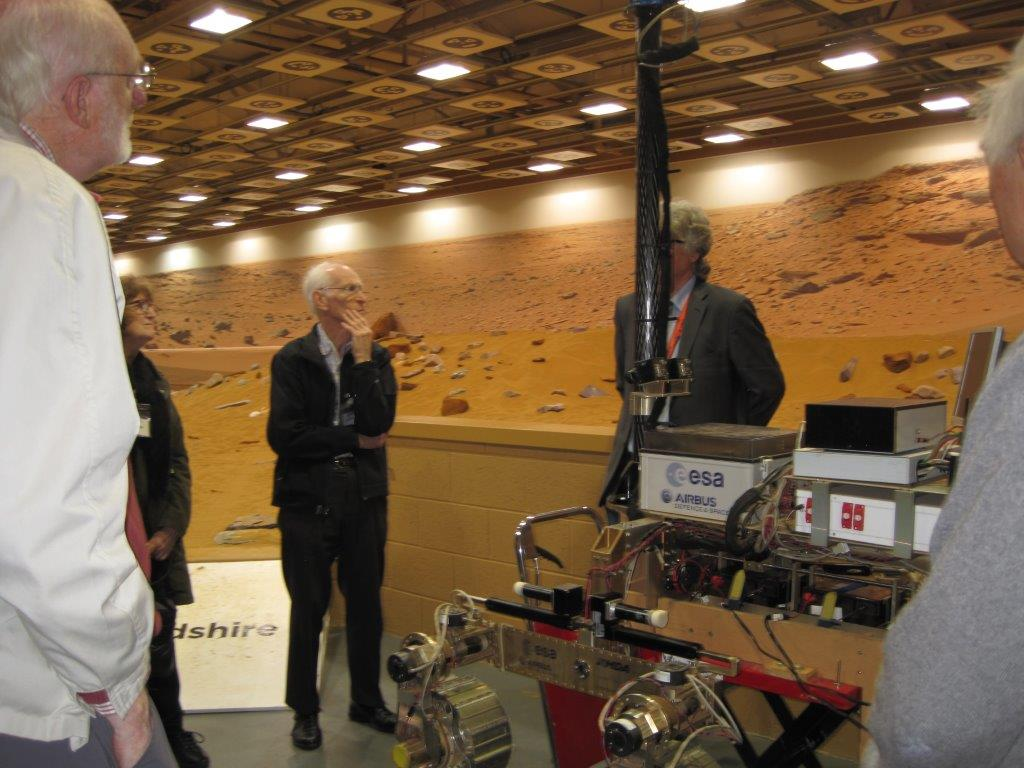 visit to Airbus Space Systems Oct 2015