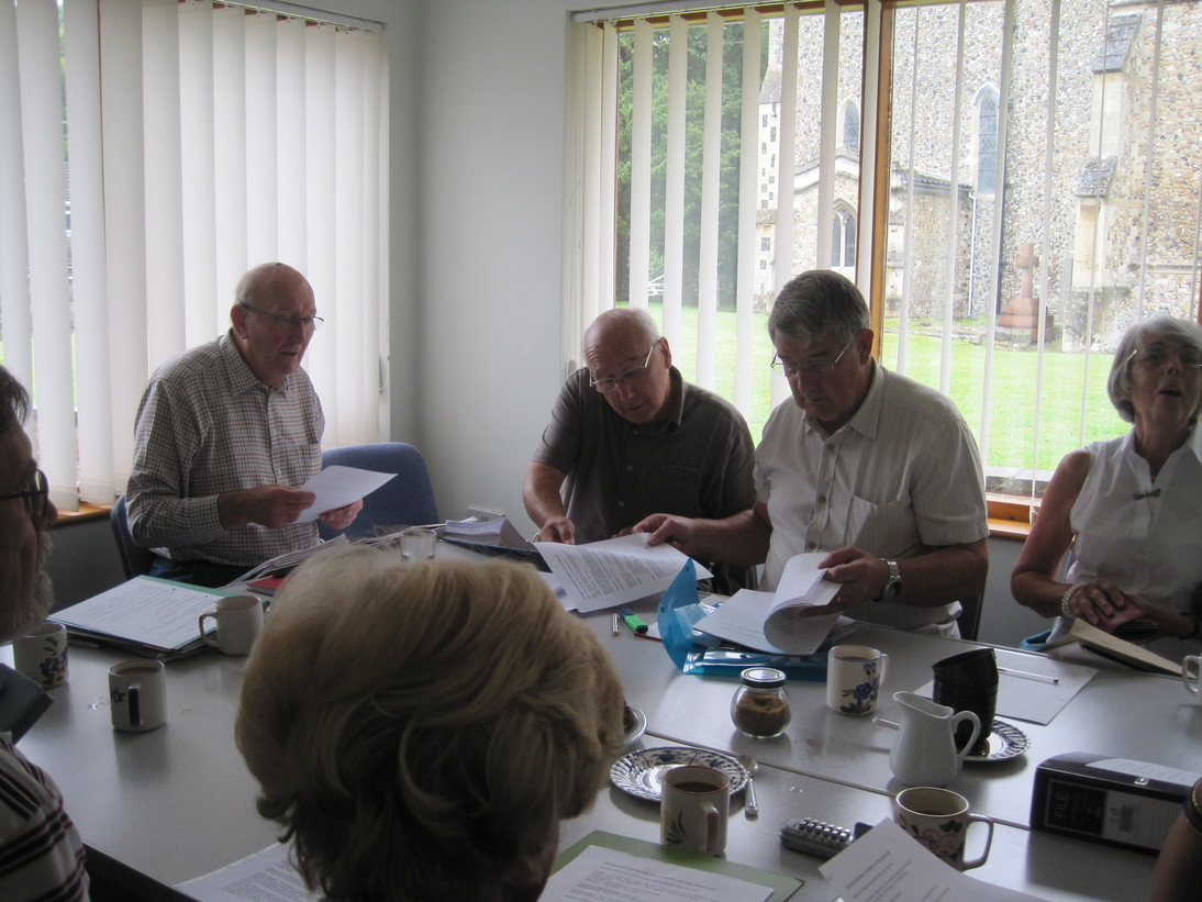 The management committee in session