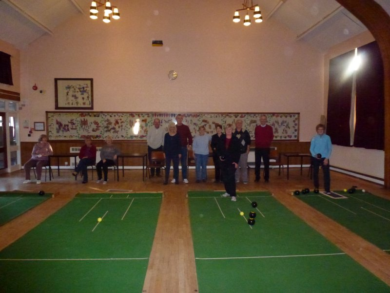 Indoor Bowls at the Civic Suite