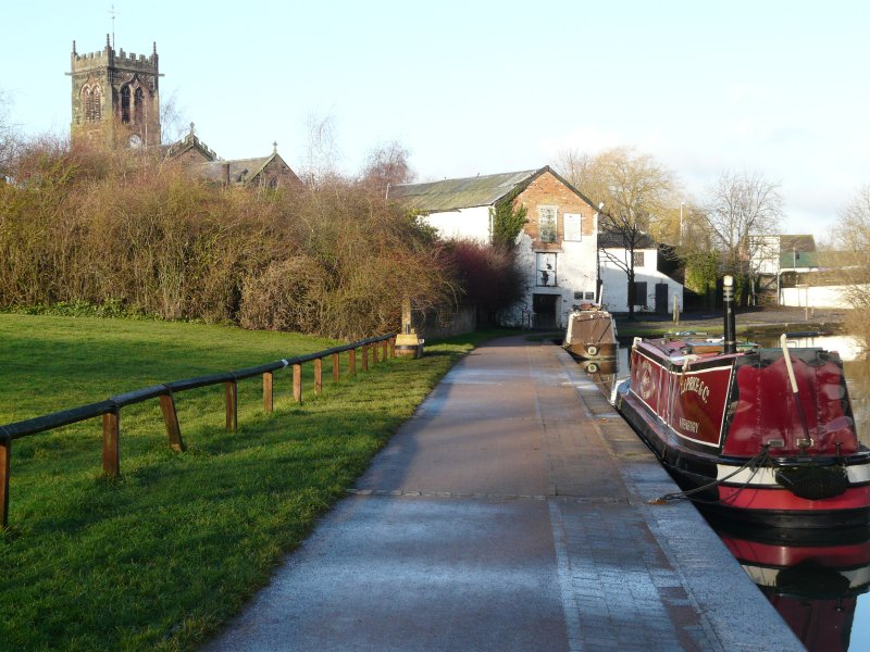 Trent and Mersey Canal and St Michael